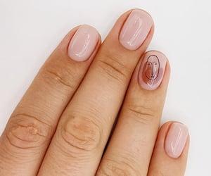 drawing, L, and nail art image