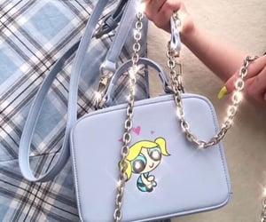 bag, blue, and backpacks image