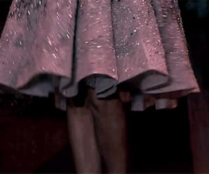 ball gown, gif, and dress details image