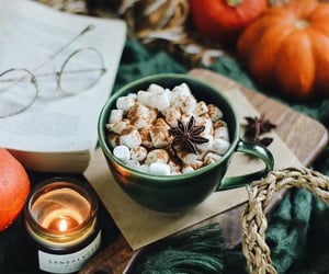 autumn, chocolate, and cozy image