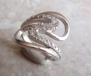 etsy, sterling ring, and 925 silver ring image