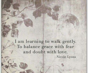 balance, doubt, and fear image