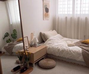aesthetic, bedroom, and minimalist image