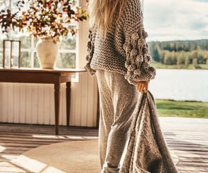 cozy, fashion, and fall image