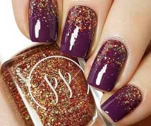 fall nails, winter nails, and fall nail ideas image