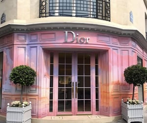 dior, luxury, and pink image