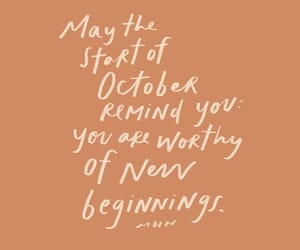 october, start, and remind image