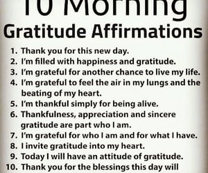 affirmation, appreciation, and blessing image