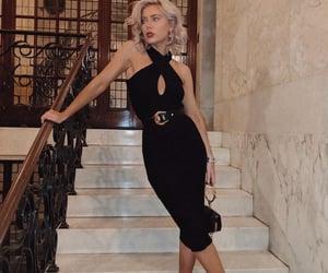 blonde, clothing, and fashion image