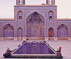 iran and mosque image