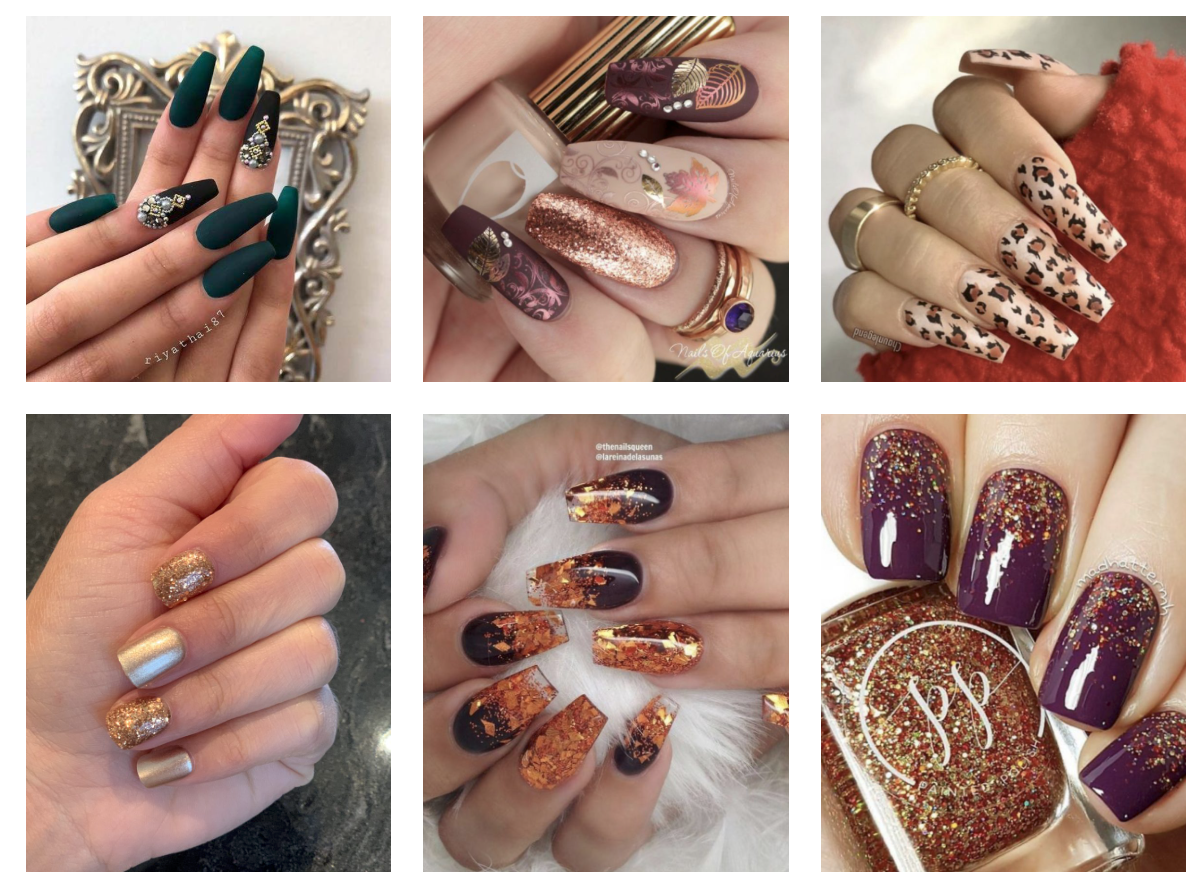 Nail Ideas For Fall And Winter On We Heart It