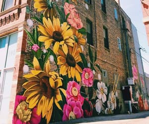 graffiti, art, and building image