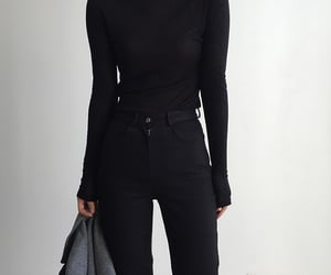 black, style, and chic image