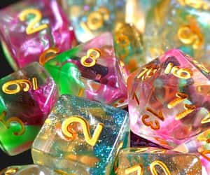 dungeons & dragons, d20, and dice image
