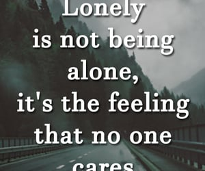life, life lessons, and lonely image