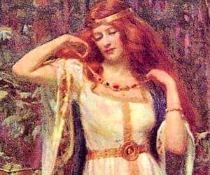 aesthetic, article, and norse goddesses image