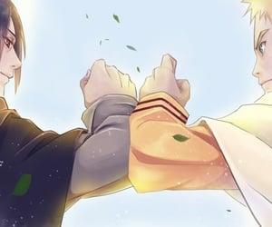 amor, naruto, and sasuke image