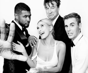 justin bieber, usher, and jailey image