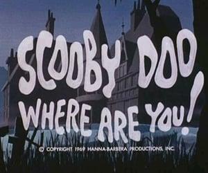 scooby doo, cartoon, and Halloween image