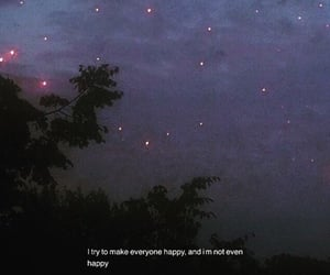 happy, quotes, and stars image