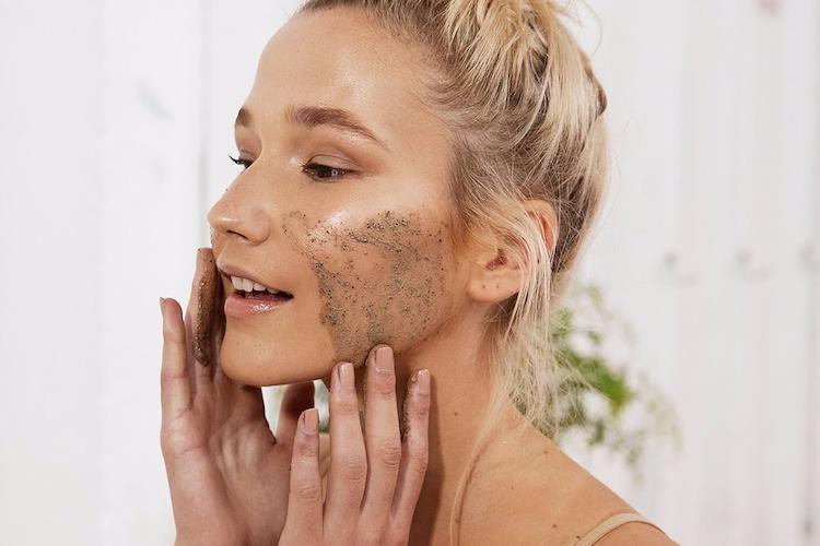 care, scrub, and face image