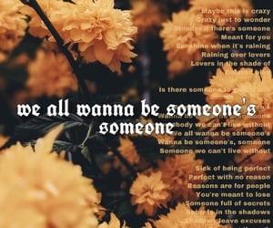 background, Lyrics, and wallpaper image