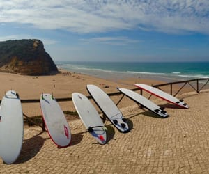 portugal, surf, and surfing image