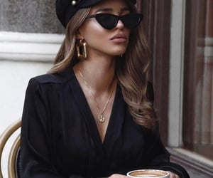 beauty, hair, and sunglasses image