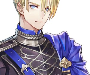 anime, prince, and blonde image