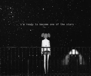 quote, quotes, and stars image
