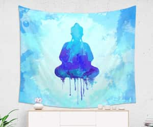 etsy, christmas gift, and wall tapestry image