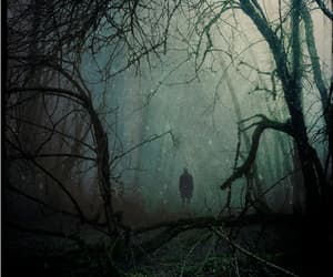 creepy, Darkness, and lost image