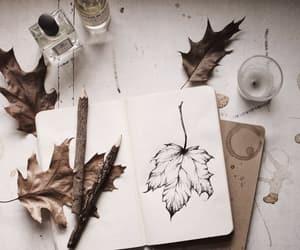 autumn, art, and fall image