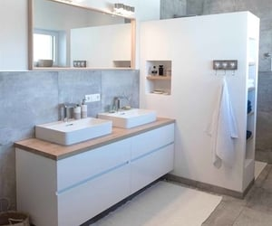 bathroom, inspiration, and clean image