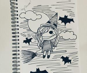 black and white, draw, and ilustraciones image