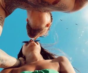 beach, summer, and Tattoos image