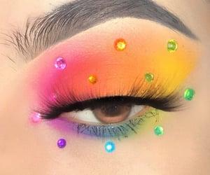 art, beauty, and eyeshadow image