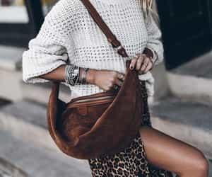 blogger, fashion, and leopard print image