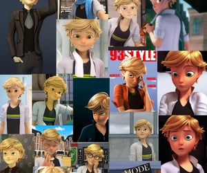 &, Adrien, and Collage image