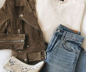 outfit, clothes, and jacket image