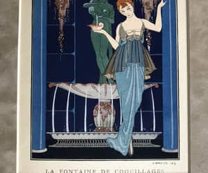 etsy, french fashion, and vintageprint image