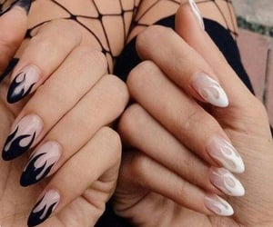 style, nails, and aesthetic image
