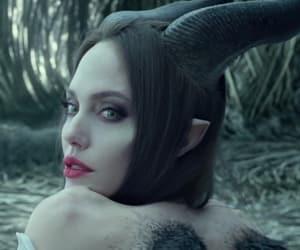 angelina, Angelina Jolie, and maleficent image