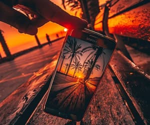 photography, summer, and sunset image
