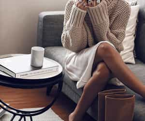 blogger, coffee, and cozy image
