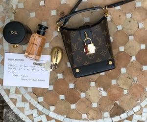 bag, Louis Vuitton, and perfume image