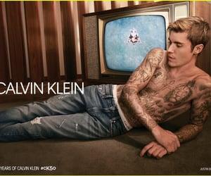 justin bieber and Calvin Klein image
