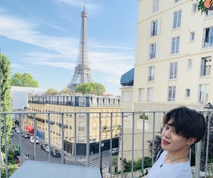 eiffel tower, btsarmy, and france image