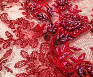 beading, closeup, and embroidery image