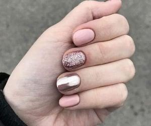 manicure, nailpolish, and nails image